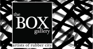 Excited for the 27th Artist of Rubber City Juried Show, opening reception Friday, March 3, 5-8 pm, free