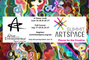 Kickstart your creative business with the Artist as an Entrepreneur Institute; courses in June and July
