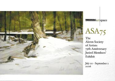 ASA 75: The Akron Society of Artists 75th Anniversary Juried Members' Exhibit
