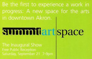 Summit Artspace: The Inaugural Show