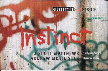 Instinct: J. Scott Matthews, The Bower Project & Andrew McAllister, Unknown Writer