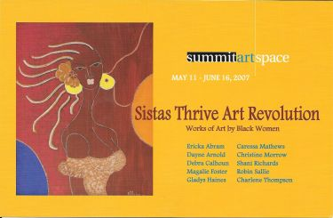 Sistas Thrive Art Revolution: Works of Art by Black Women