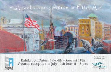 Streetscapes 2014: Akron in Plein Air