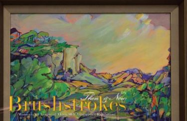 Brushstrokes: Then & Now Women's Art League of Akron 80th Anniversary Exhibition