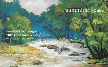 Women's Art League 70th Gala Anniversary Show