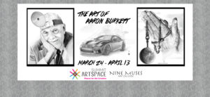 Pencil artist leaves indelible mark; new show at Nine Muses March 24-May 13