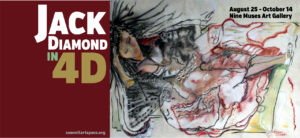 Summit Artspace brings 4 decades of Jack Diamond's art to Nine Muses; free opening reception Aug. 25, 5-9 pm
