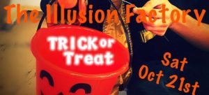 Kids and families trick or treat with The Illusion Factory on Oct. 21 and see The Emperor's New Clothes!