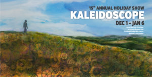 Alliance for the Visual Arts Annual Kaleidoscope Holiday Show, Dec. 1-Jan. 6; opening reception and awards on Friday, Dec. 1, 5-8 pm