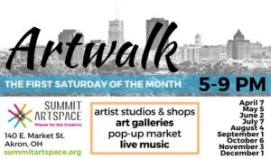 Artwalk at Summit Artspace!  July 7, 5-9 pm with a little help from our friends, Zeber-Martell Studios and more!