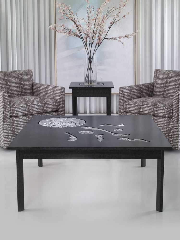 Scott Thomas furniture featuring Don Drumm art