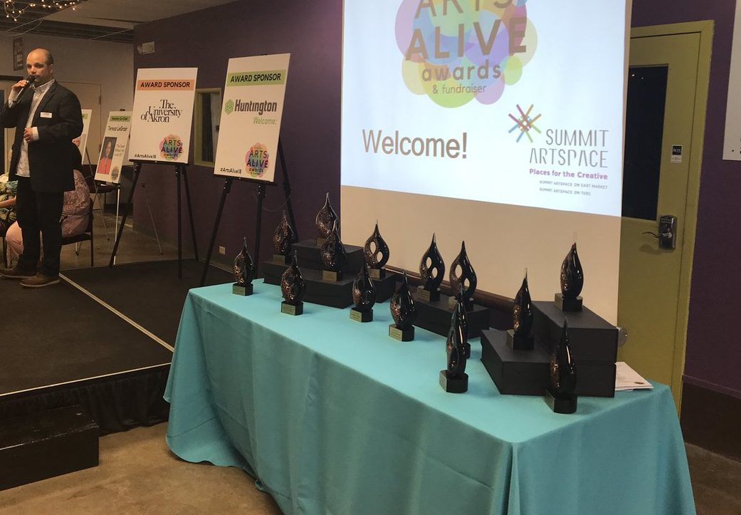 The 2018 Arts Alive Awards all in a row to be presented