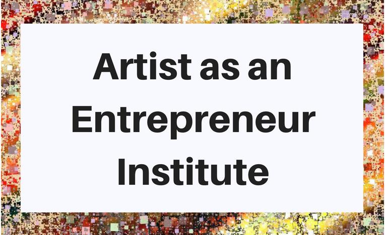 Artist as an Entrepreneur Institute education logo