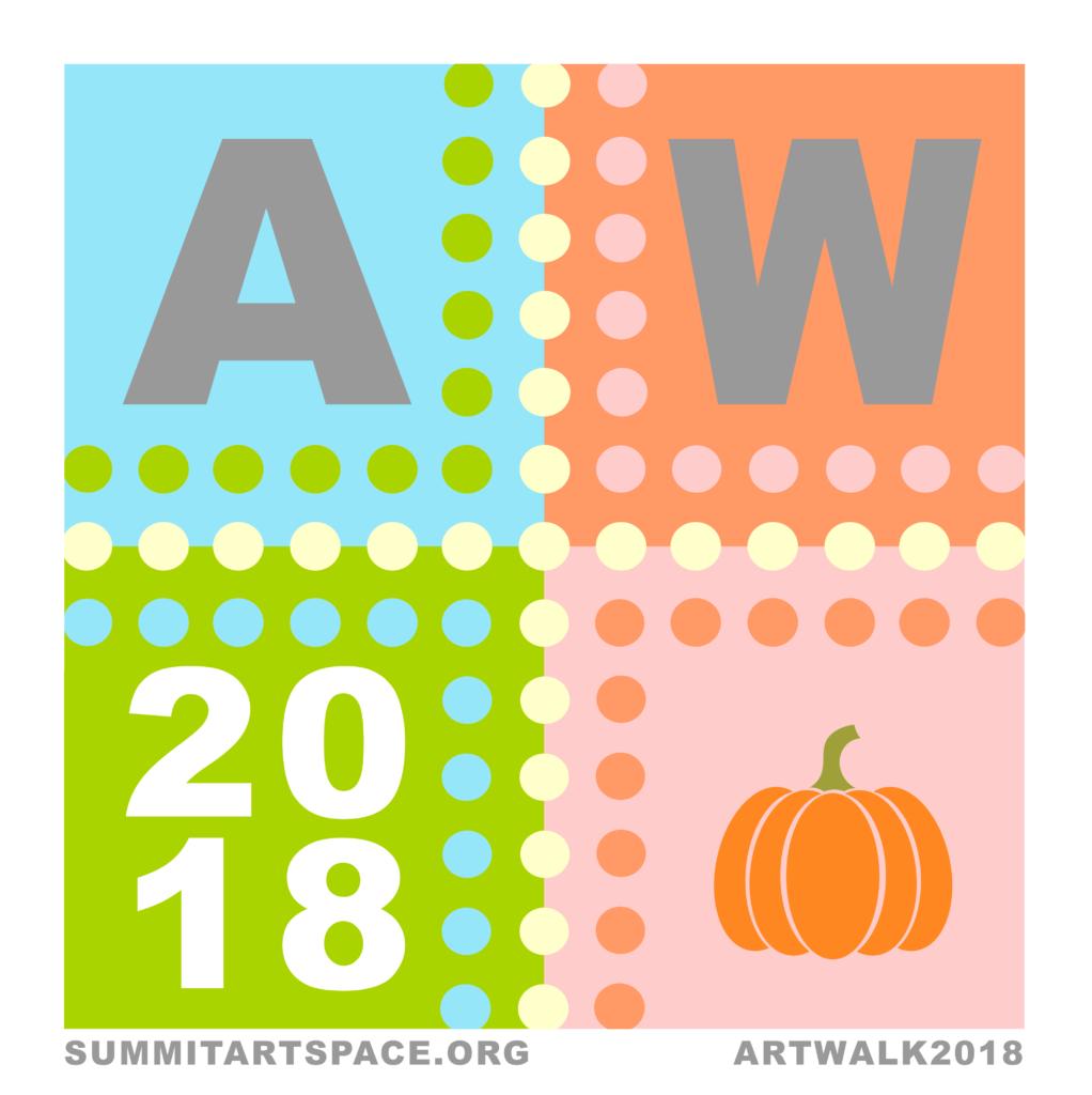 Akron Artwalk logo for October 2018