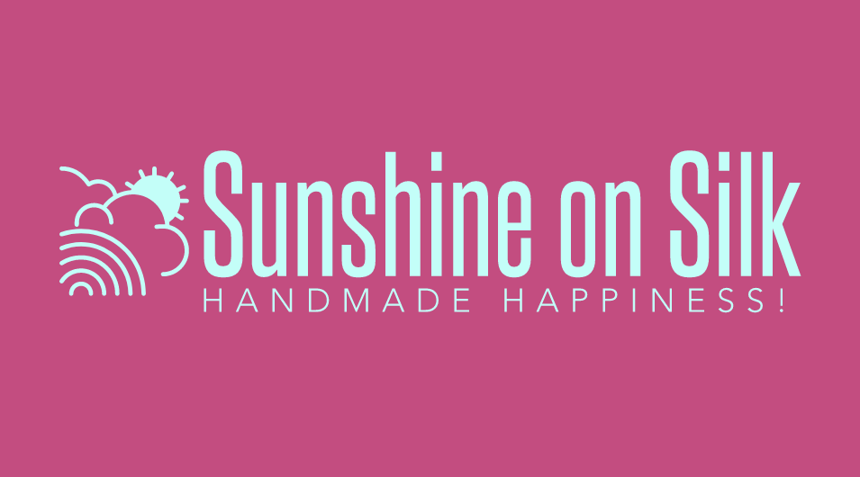 Logo for Sunshine on Silk for High Arts Festival demonstration