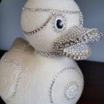 Gail Taber's beaded duck