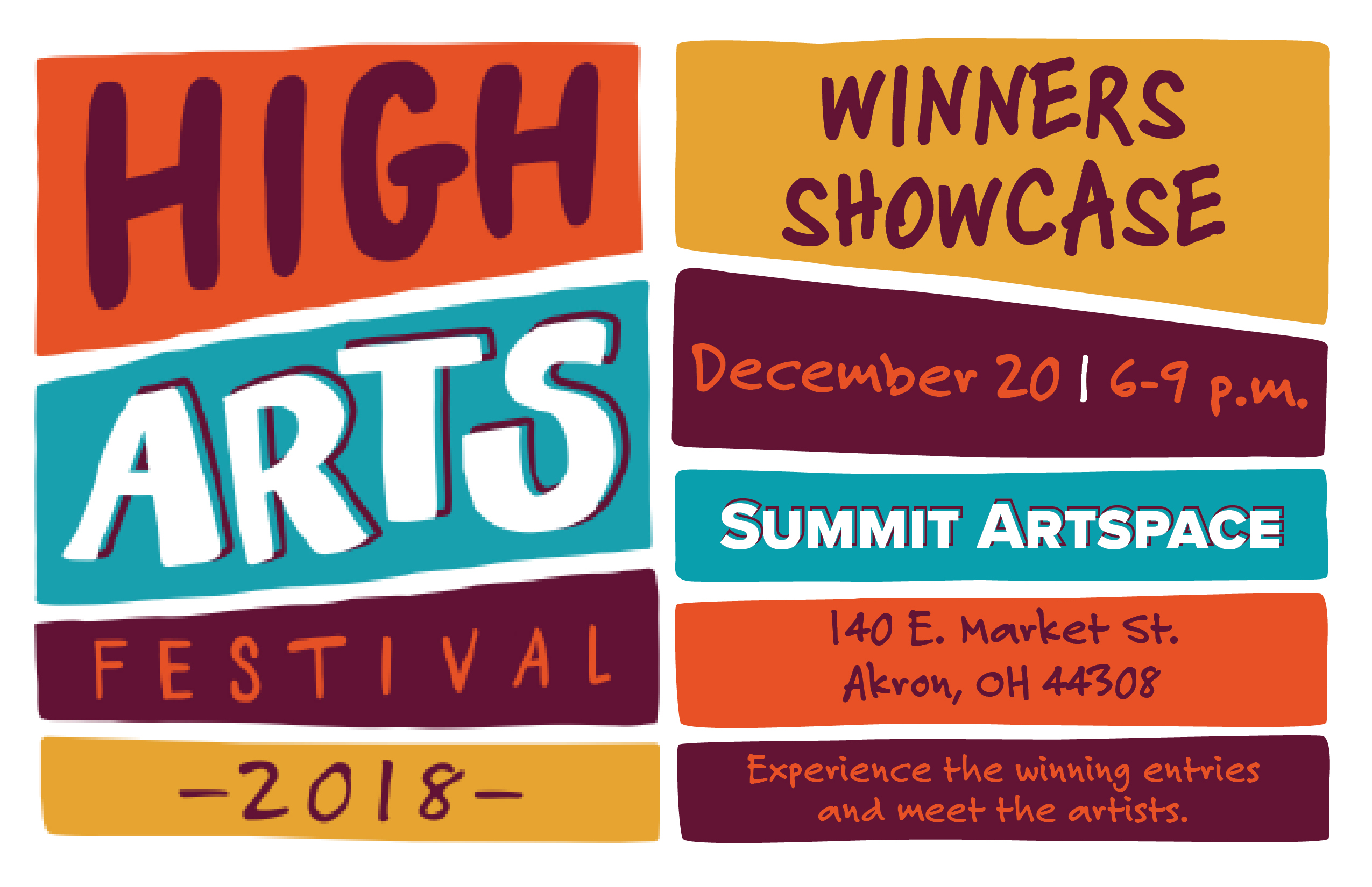 High Arts Festival Winners Showcase
