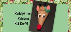 image of reindeer craft for Kaleidoscope workshop