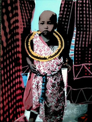 Maasai Toddler by Susan Yingling, Third Place