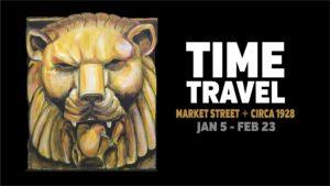 Time Travel Market Street Circa 1928 show image