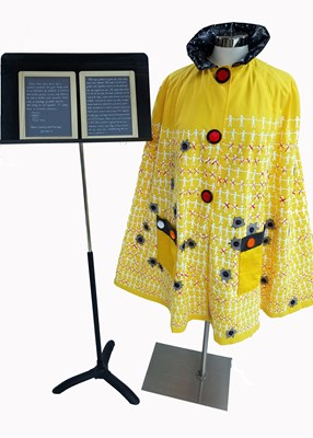 The School Shootings School Bus Cape by Judi Krew, First Place
