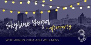 3rd Thursday skyline yoga event at Summit Artspace