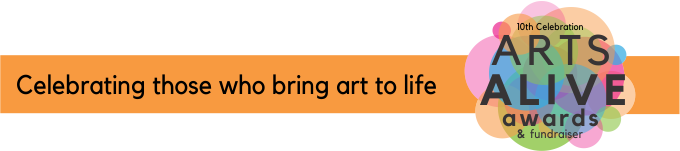 Arts Alive 2019 page banner