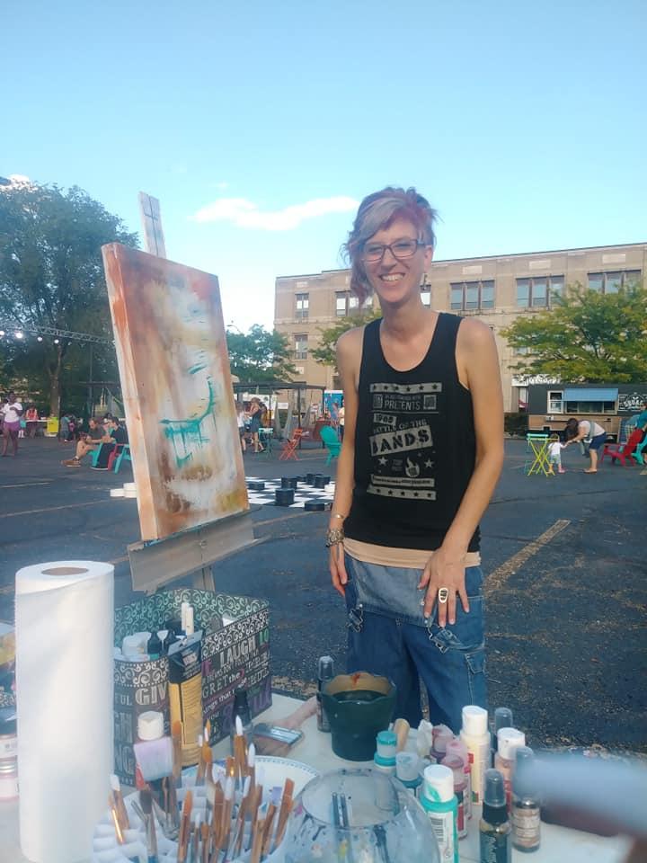 Artist Nikki Bartel