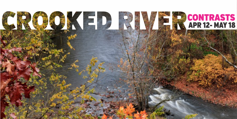Crooked River Contrasts Photo Exhibition Cuyahoga RIver