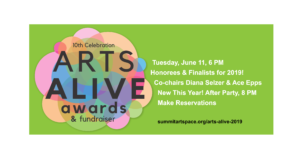 Arts Alive Awards 2019