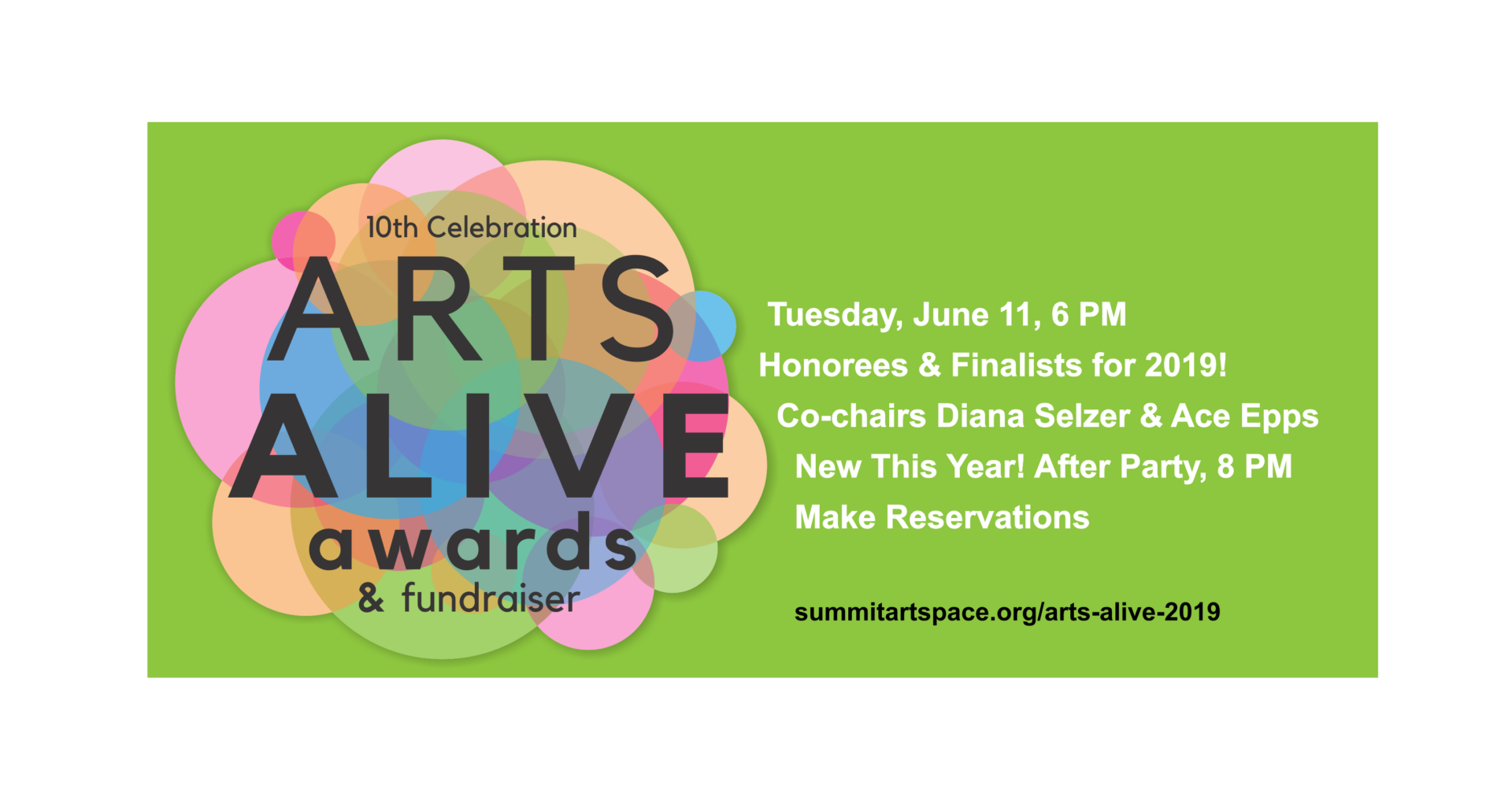 Arts Alive Awards 2019