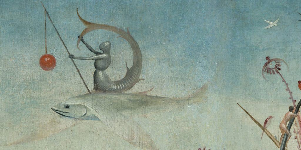 Boschian Detail from Garden of Earthly Delights