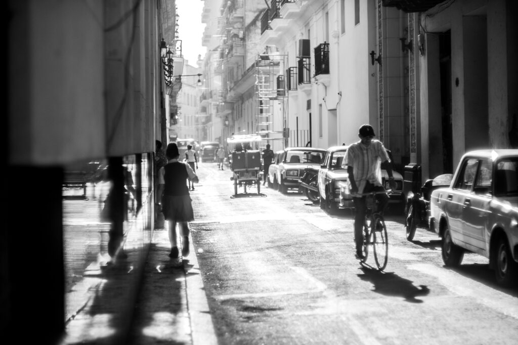 Hazy Street Dream by Micah Kraus, Honorable Mention